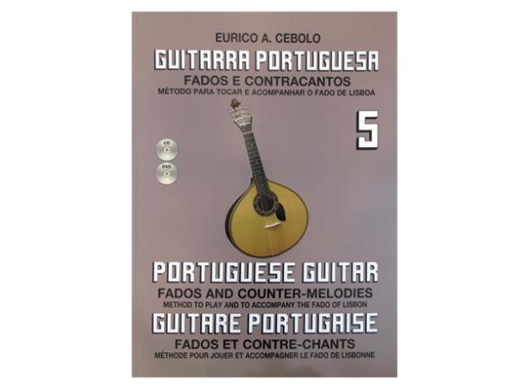 Libros de guitarra Eurico A. Cebolo Guitarra Portuguesa 5