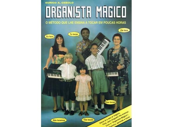 Libros de teclado Eurico A. Cebolo Método Organista Mágico