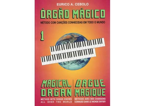 Libros de piano Eurico A. Cebolo Orgão Mágico 1