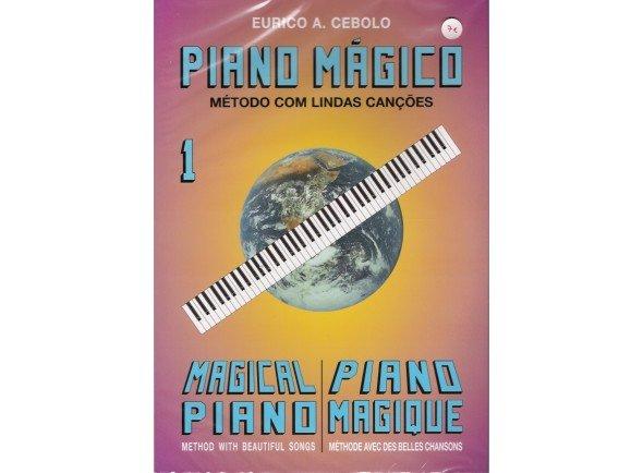 Libros de piano Eurico A. Cebolo Piano Mágico 1