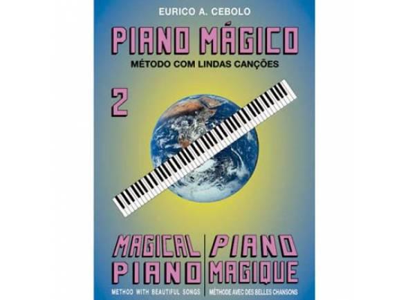Libros de piano Eurico A. Cebolo Piano Mágico 2