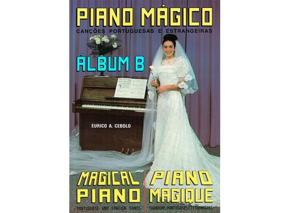 Libros de piano Eurico A. Cebolo Piano Mágico - Álbum B