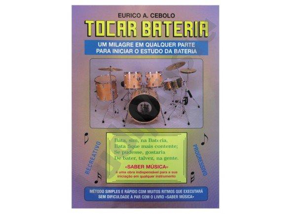 Libros de batería Eurico A. Cebolo Tocar Bateria com CD