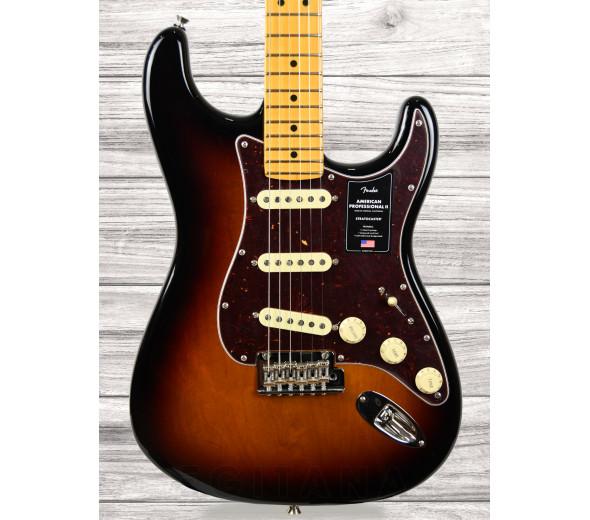 Guitarras de formato ST Fender American Professional II Stratocaster MN 3-Color Sunburst
