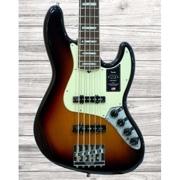 Bajo de 5 cuerdas Fender American Ultra Jazz Bass V RW UltrBurst
