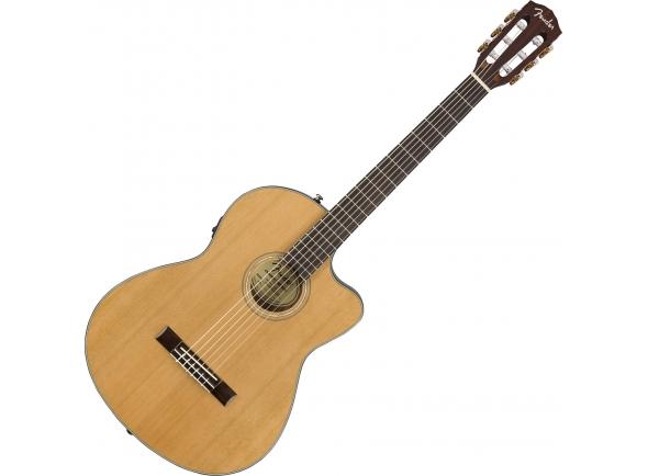 Guitarra clasica Fender CN-140SCE Nylon WN with Case Natural