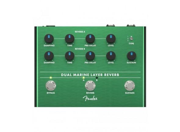 Reverb y efectos Hall Fender Dual Marine Layer Reverb