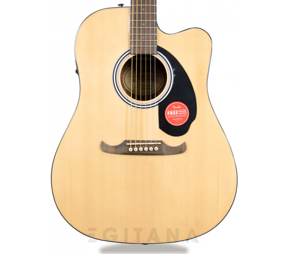 Guitarras Dreadnought Fender FA-125CE NAT