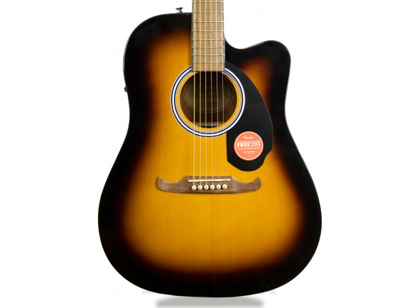 Guitarras Dreadnought Fender FA-125CE Sunburst EXPO