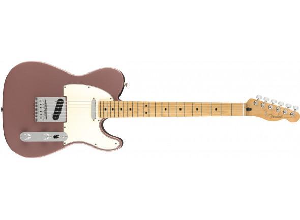Guitarras de formato T Fender  Limited Edition Player Burgundy Mist Maple