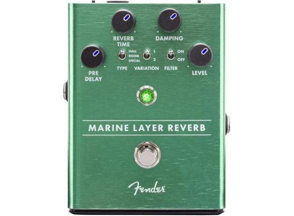 Reverb y efectos Hall Fender Marine Layer Reverb