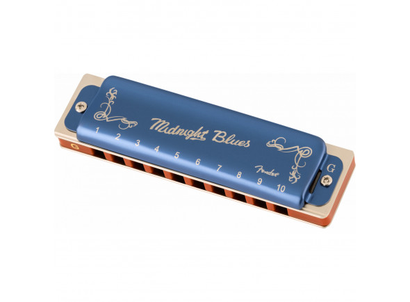 Armónica diatónica Fender  Midnight Blues Armonica Sol
