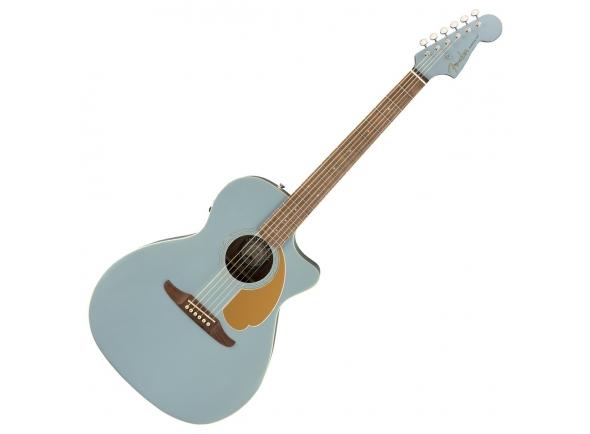 Otras guitarras acusticas Fender Newporter Player Ice BlueSatin