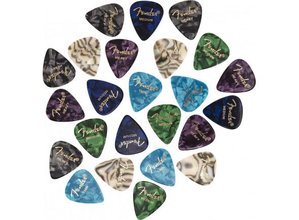 Púas de guitarra Fender  Premium Cell Mix Pick Set 24