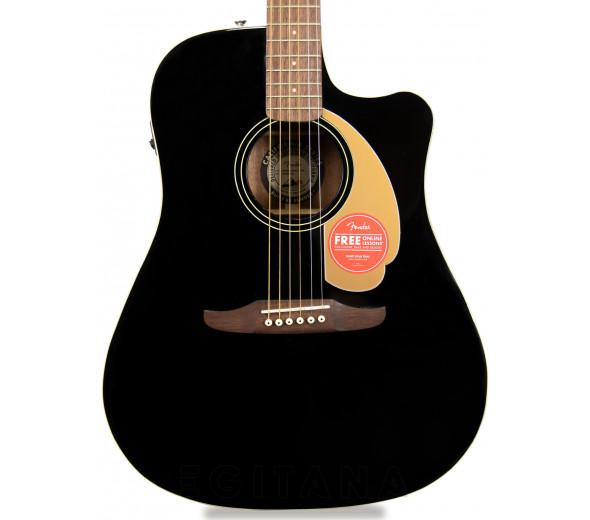 Otras guitarras acusticas Fender Redondo Player Jetty Black