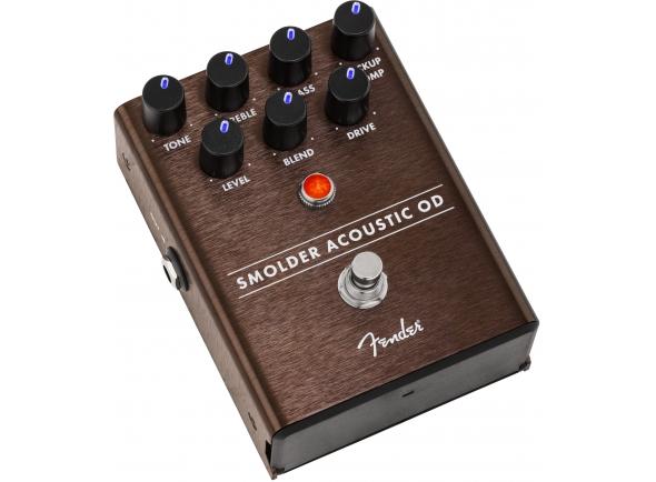 Efectos de guitarra acústica Fender Smolder Acoustic OD