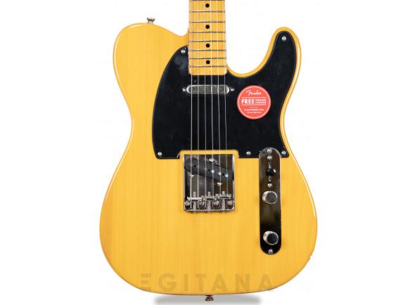 Guitarras de formato T Fender  SQ CV  50s Telecaster MN Butterscotch Blonde B-Stock