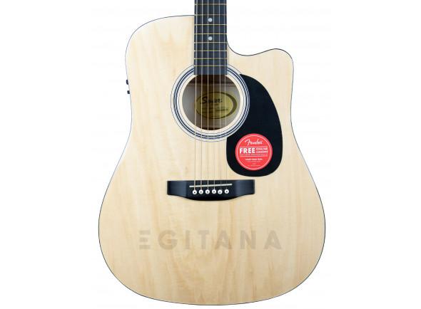 Guitarras Dreadnought Fender Squier SA-105CE Natural EXPO