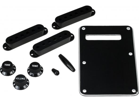 Fundas de recogida Fender Strat Accessory Kit Black