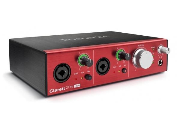 Interfaz de audio USB Focusrite Clarett 2Pre USB