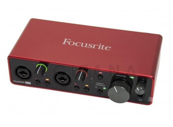 Interfaz de audio USB Focusrite Scarlett 2i2 3rd Gen B-Stock