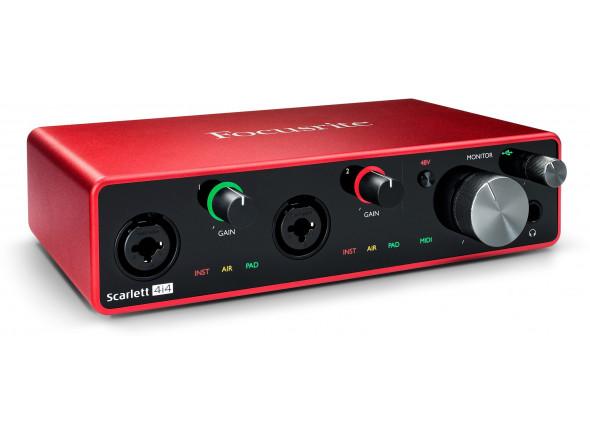Interfaz de audio USB Focusrite Scarlett 4i4 3rd Gen B-Stock