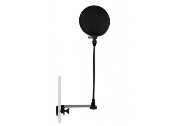 Protección contra el viento para micrófono Gatt Audio popscreen gooseneck