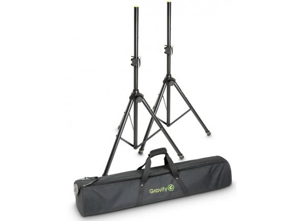 Soportes de altavoces Gravity SS 5211 B Set 1 Speaker Stand