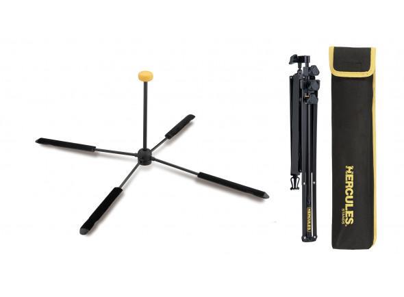 Soportes de instrumentos de viento Hercules Stands  Pack Suporte Flauta/Flautim DS460B e Estante