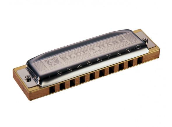 Armónica diatónica Hohner  diatónica Blues Harp MS 532/20 B 20 vozes