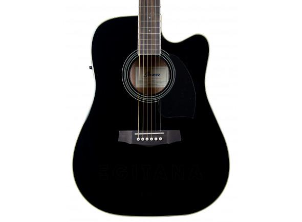 Guitarras Dreadnought Ibanez PF15ECE-BK EXPO