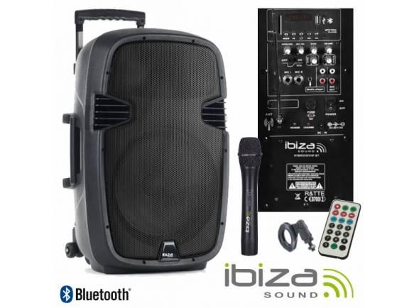 Sistemas de baterías portátiles Ibiza HYBRID10VHF-BT