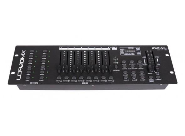 Controlador DMX Ibiza LIGHT LC192DMX