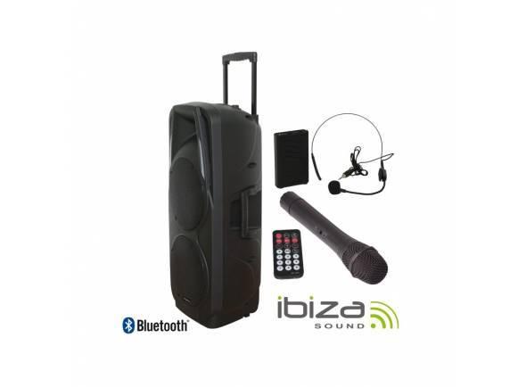 Sistemas de baterías portátiles Ibiza PORT 225 VHF BT