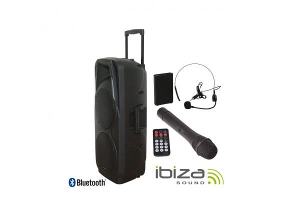 Sistemas de baterías portátiles Ibiza PORT 225 VHF BT B-Stock