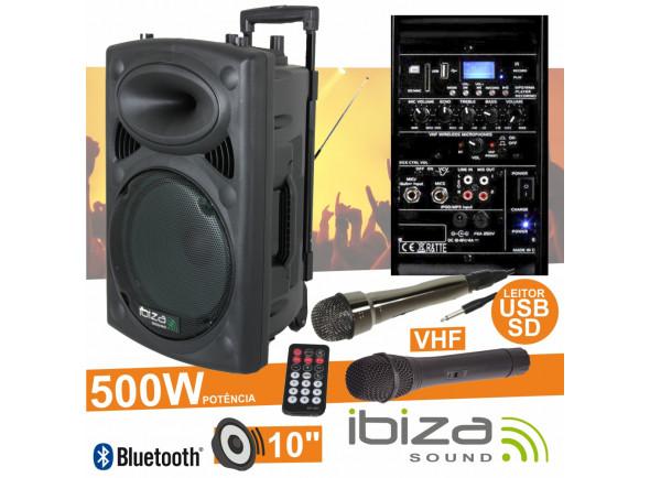 Sistemas de baterías portátiles Ibiza  PORT10VHF-BT