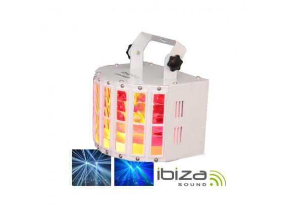 Proyector LED PAR Ibiza  Projector Luz com 2 leds RGBW 10W DMX MIC 30W