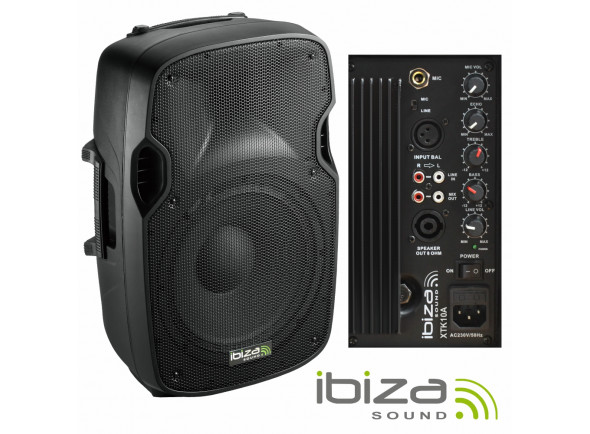 Altavoces amplificados Ibiza XTK10A B-Stock