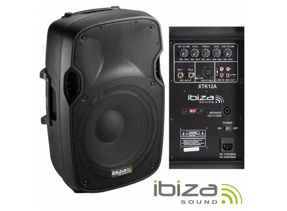 Altavoces amplificados Ibiza XTK12A