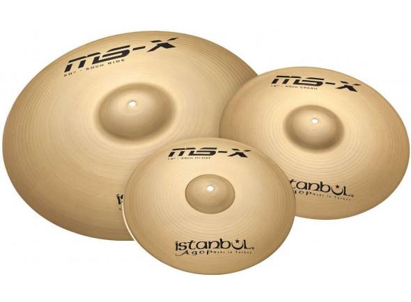Juego de platos Istanbul  Agop Cymbals MS-X 3 Piece Set 14
