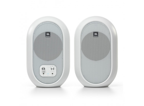 Monitores de estudio activos JBL 104-BT Bluetooth Reference Monitors, White B-Stock