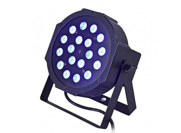 Proyector LED PAR Karma Projector Efeitos LED PAR 18×1,5W RGB DMX