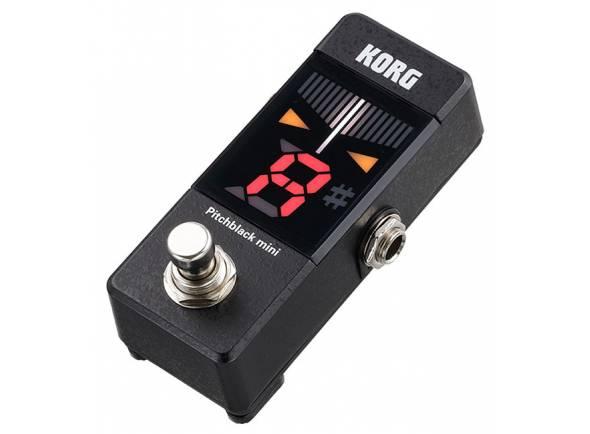 Afinadores de pedal Korg Pitchblack Mini BK