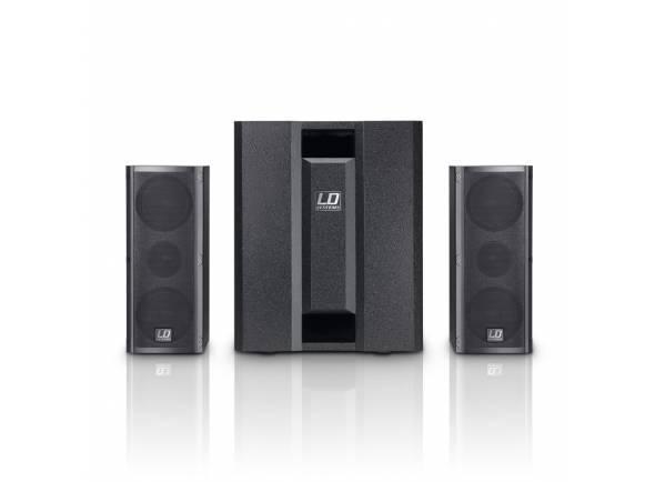 Conjuntos completos de PA LD Systems Dave 8 Roadie