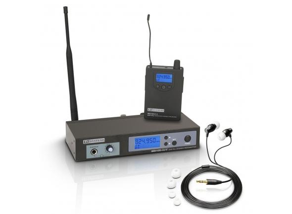 Monitoreo inalámbrico en el oído LD Systems MEI 100 G2 B5