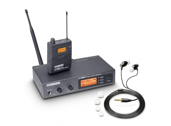 Monitoreo inalámbrico en el oído LD Systems MEI 1000 G2 B5