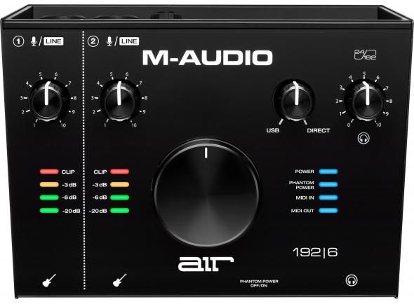 Interfaz de audio USB M-Audio AIR 192 6