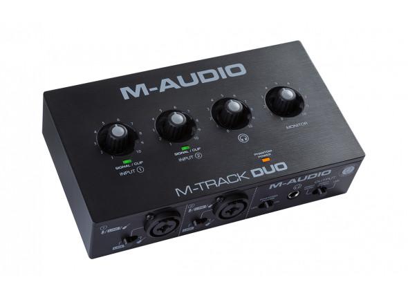 Interfaz de audio USB M-Audio  M-Track DUO