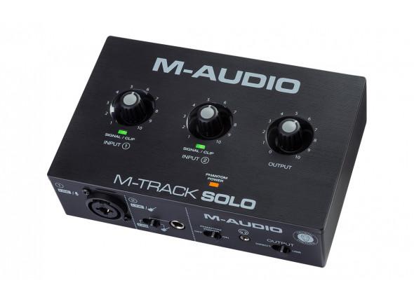 Interfaz de audio USB M-Audio  M-Track Solo