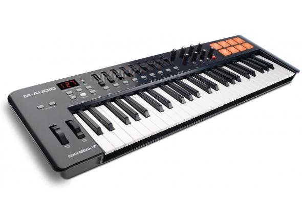 Controladores de teclados MIDI M-Audio Oxygen 49 Mk4